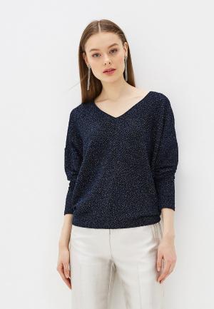 Пуловер Yumi. Цвет: синий