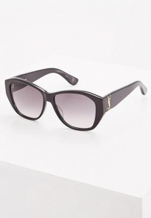 Очки солнцезащитные Saint Laurent SL M8001. Цвет: черный