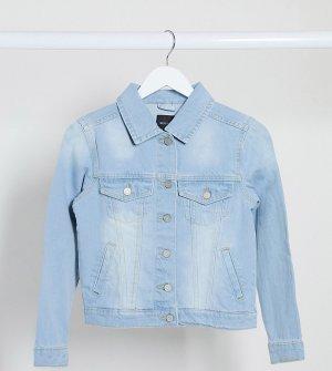 Выбеленная джинсовая куртка -Синий Brave Soul Petite