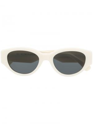 Солнцезащитные очки Drew Mama Retrosuperfuture. Цвет: белый