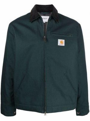 Куртка Detroit из органического хлопка Carhartt WIP. Цвет: зеленый