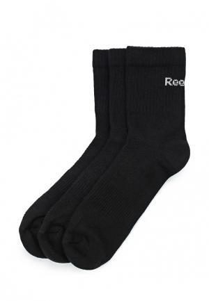 Комплект Reebok SE U MID CREW SOCK 3P. Цвет: черный