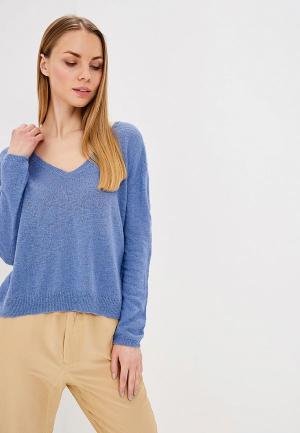 Пуловер Sacks Sack's. Цвет: голубой