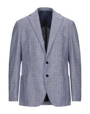 Пиджак GI CAPRI. Цвет: грифельно-синий
