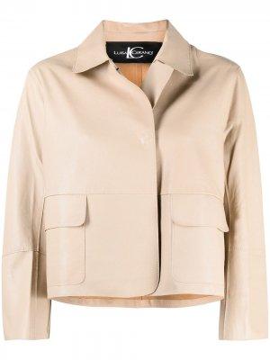 Укороченная куртка Luisa Cerano. Цвет: нейтральные цвета