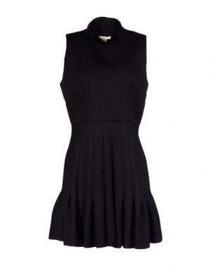 Короткое платье ANTONIO BERARDI. Цвет: черный