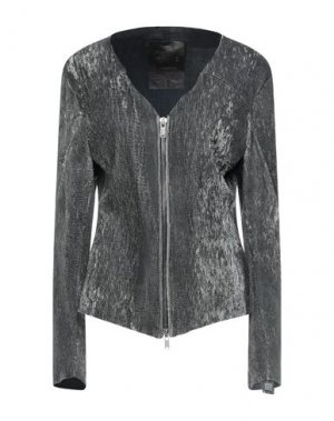 Куртка 10SEI0OTTO. Цвет: стальной серый