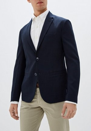 Пиджак Armani Exchange. Цвет: синий