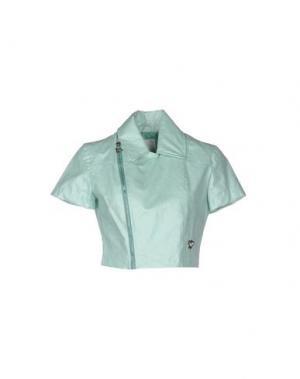 Куртка MAISON ESPIN. Цвет: светло-зеленый