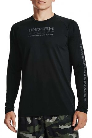 Лонгслив Ua Tech 2.0 Orig Of Under Armour. Цвет: черный