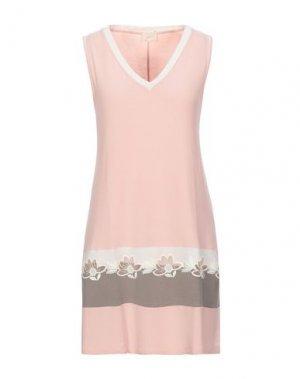 Ночная рубашка TATÁ. Цвет: розовый