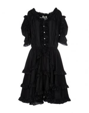 Платье до колена FAITH CONNEXION. Цвет: черный