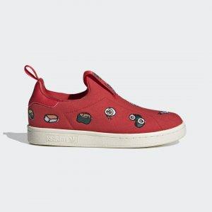 Кроссовки-слипоны Stan Smith 360 Originals adidas. Цвет: красный
