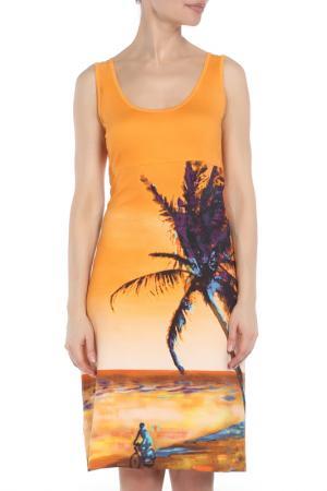 Платье Tuzzi. Цвет: оранжевый