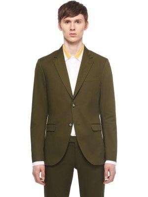Костюмный пиджак TIGER OF SWEDEN. Цвет: зеленый