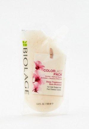 Маска для волос Matrix концентрат Biolage Colorlast глубокое восстановление окрашенных волос, 100 мл. Цвет: прозрачный