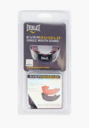 Капа Everlast EverShield. Цвет: черный
