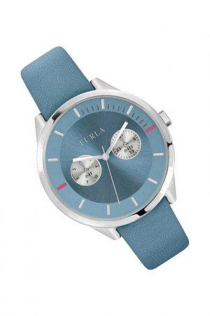 Наручные часы Furla. Цвет: голубой
