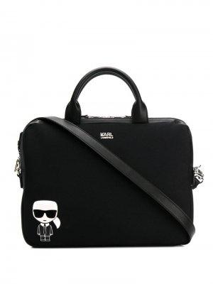 Сумка для ноутбука K/Ikonik Karl Lagerfeld