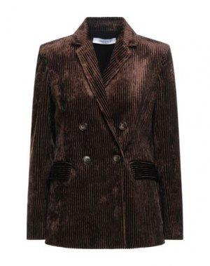 Пиджак EMMA & GAIA. Цвет: коричневый