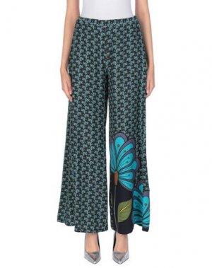Повседневные брюки ANDREA TURCHI. Цвет: темно-синий