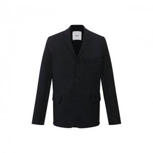 Пиджак Oamc. Цвет: синий