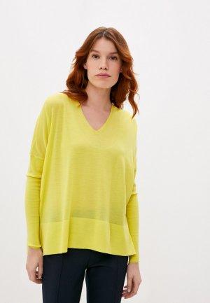 Пуловер Akris Punto. Цвет: желтый