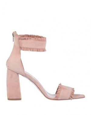 Сандалии ANNA F.. Цвет: светло-розовый