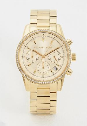 Часы Michael Kors MK6356. Цвет: золотой