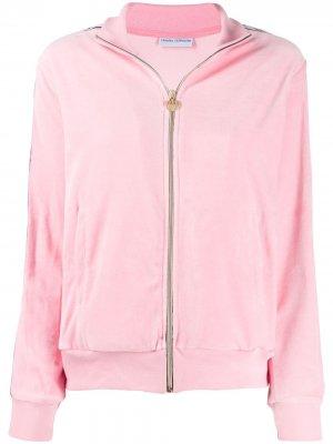 Куртка-бомбер на молнии Chiara Ferragni. Цвет: розовый