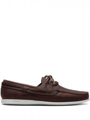 Топсайдеры со шнуровкой Car Shoe. Цвет: коричневый