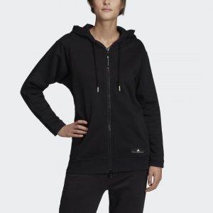 Толстовка для фитнеса by Stella McCartney adidas. Цвет: черный