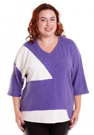Пуловер Luxury Plus. Цвет: фиолетовый