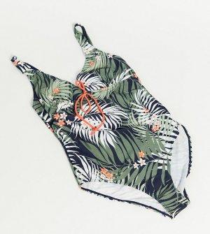 Слитный купальник для кормления с принтом Mamalicious Maternity-Многоцветный Mama.licious