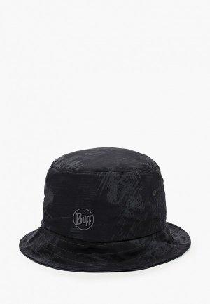 Панама Buff Trek Bucket Hat. Цвет: черный