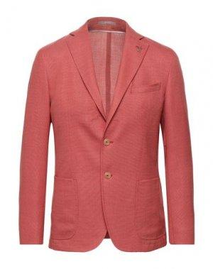 Пиджак PAOLONI. Цвет: лососево-розовый