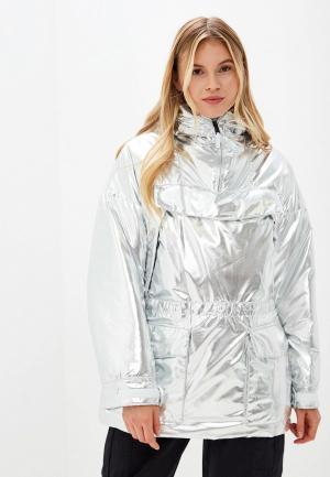 Куртка утепленная Napapijri SKIDOO. Цвет: серебряный