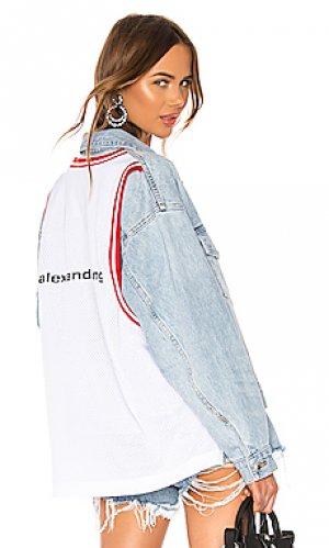 Джинсовая куртка game DENIM x ALEXANDER WANG. Цвет: none