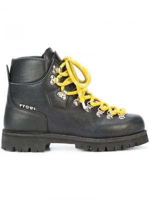 Ботинки на шнуровке Proenza Schouler. Цвет: черный