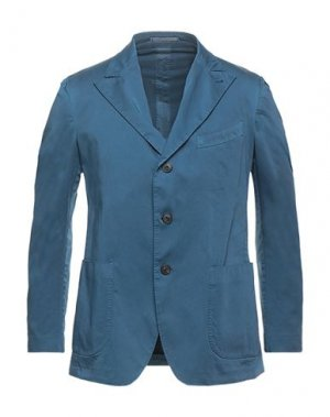 Пиджак GABRIELE PASINI. Цвет: грифельно-синий