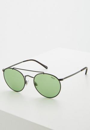 Очки солнцезащитные Polo Ralph Lauren PH3114 915771. Цвет: серый