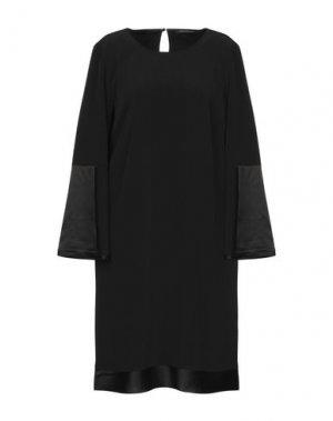 Короткое платье LUISA CERANO. Цвет: черный