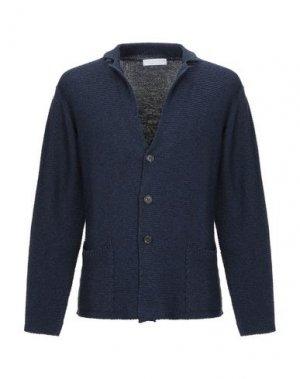 Пиджак FILIPPO DE LAURENTIIS. Цвет: темно-синий