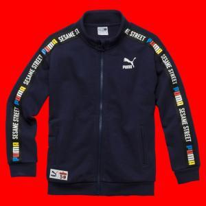 Детская олимпийка Sesame Jacket PUMA. Цвет: синий