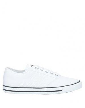 Кеды и кроссовки EA7. Цвет: белый