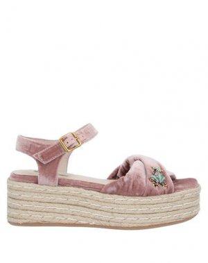 Сандалии MOVIE'S. Цвет: пастельно-розовый