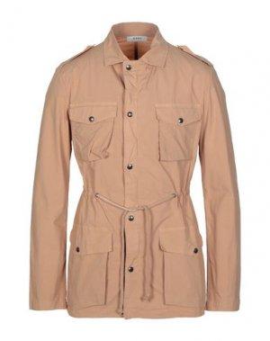 Легкое пальто ALPHA STUDIO. Цвет: верблюжий