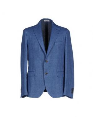 Пиджак HERITAGE. Цвет: синий