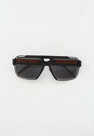 Очки солнцезащитные Dolce&Gabbana DG2270 110687. Цвет: черный