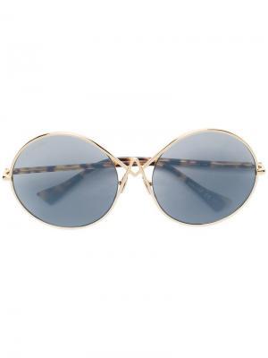 Round frame sunglasses Altuzarra. Цвет: золотистый